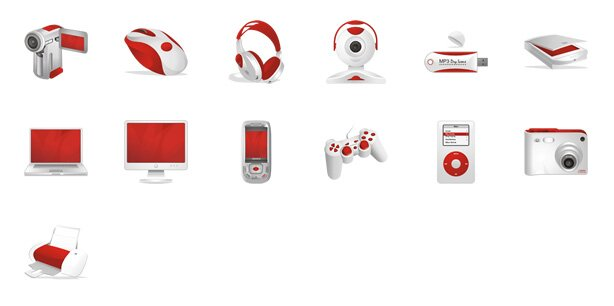 Ruby Multimedia icones