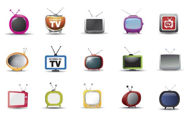 Icônes TV