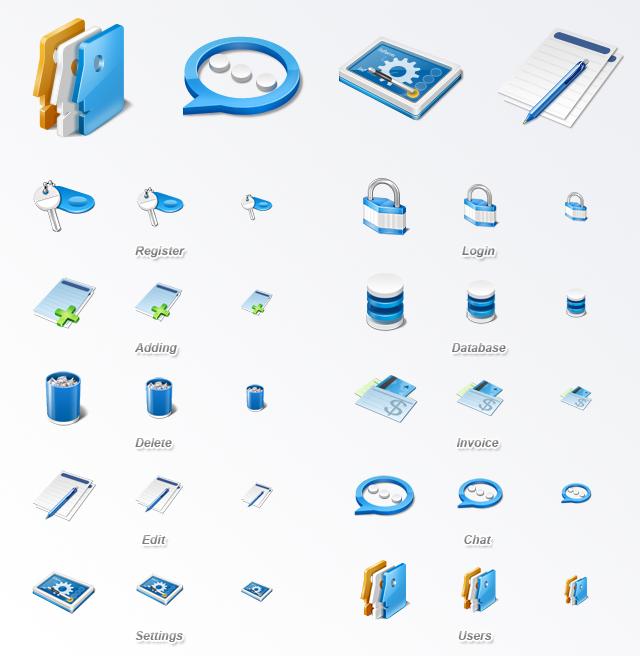 Application Icon Set