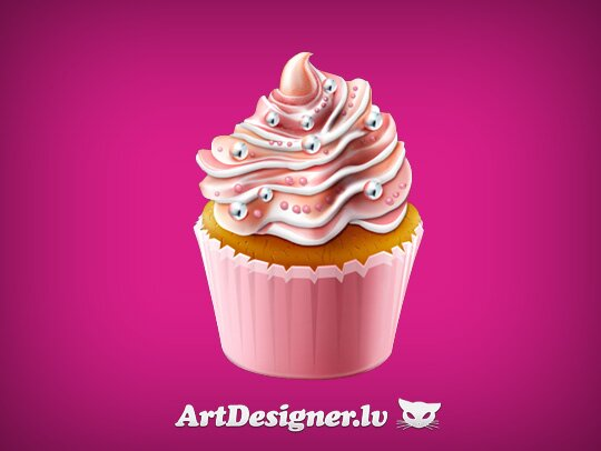 Icône cupcake