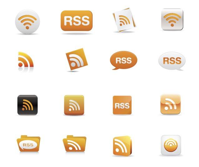 RSS icônes