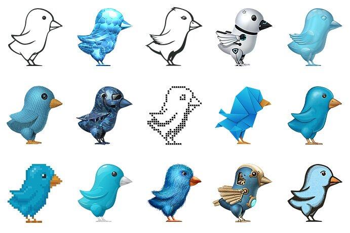 The Amazing Twitter Birds