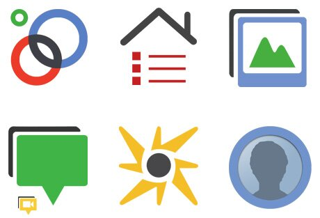 Google+ Social Icones