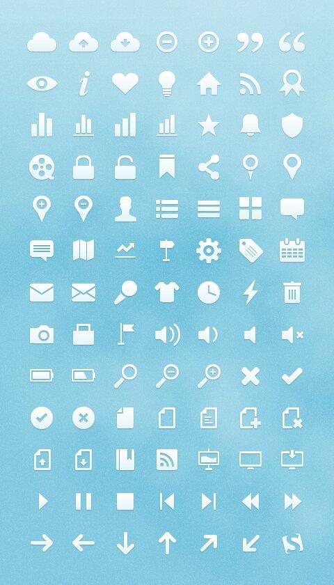Free Vector Web Icones