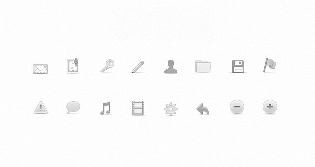 Icônes web soft v2