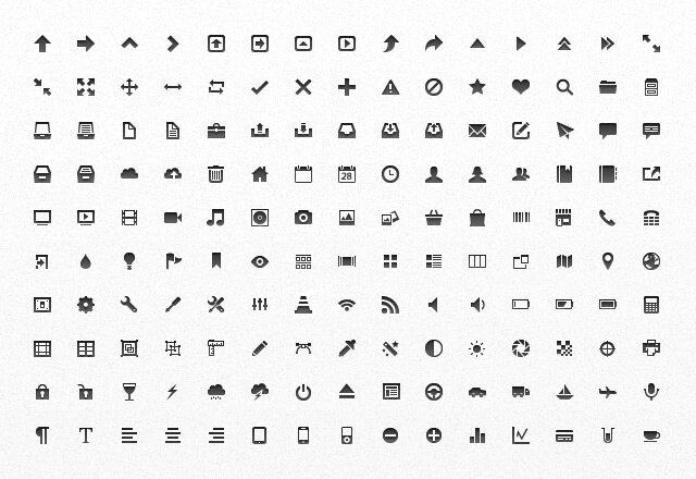 Mini Vector App Icones