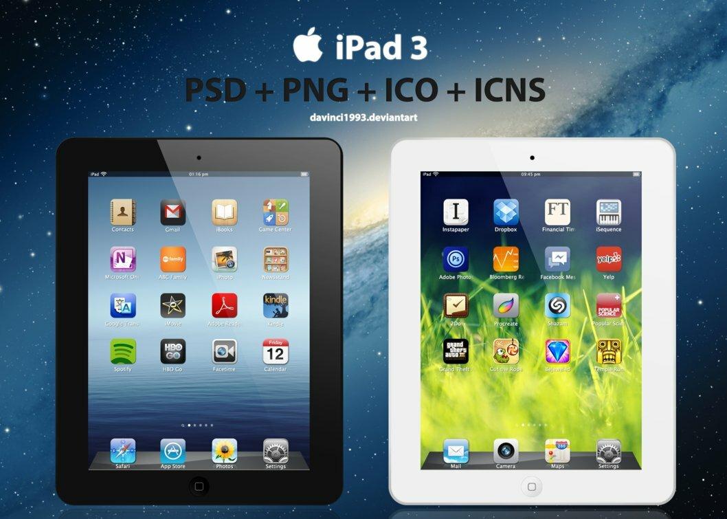 icône iPad 3