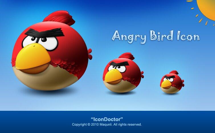Angry Bird vectoriel
