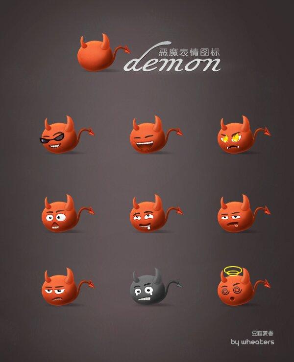 Icônes démon