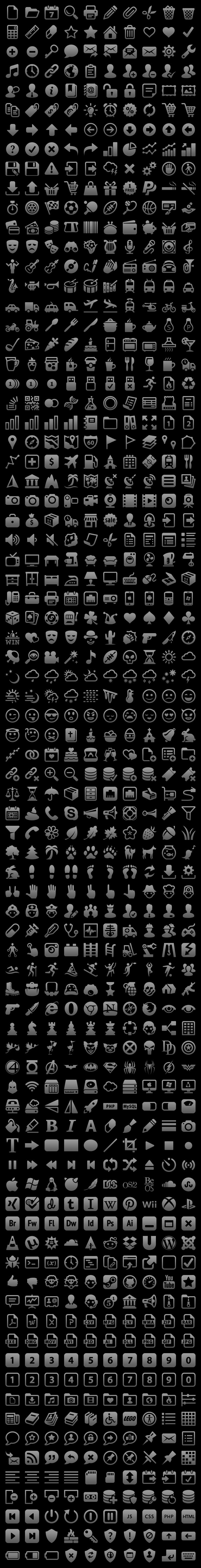 iOS icones