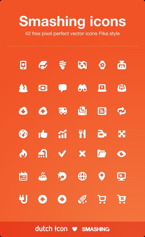Chunky Pika Icon Set