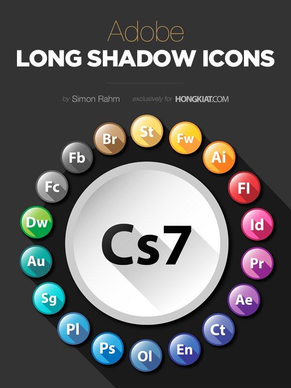 Adobe long shadow
