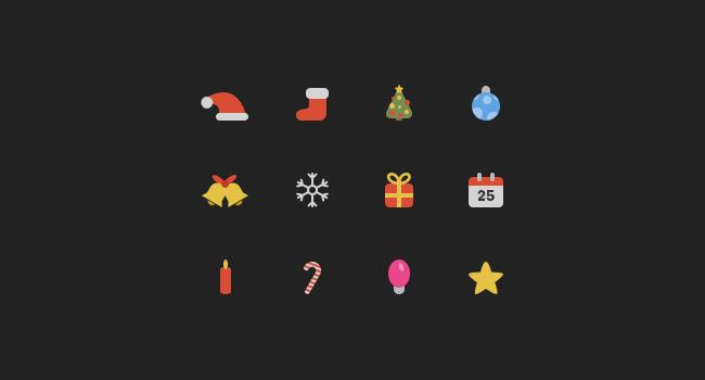 12 icônes de Noël