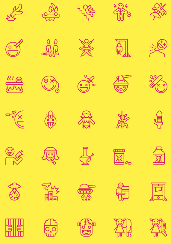 Nasty icones