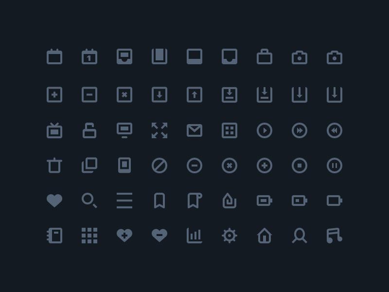 54 Stylish Icones