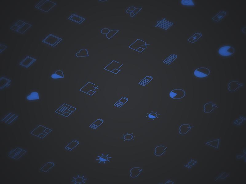 pack 100 icônes